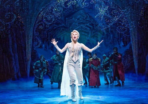Frozen - The Musical at St James Theatre